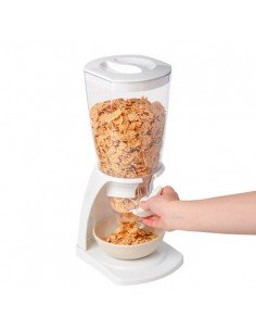 Dispensador cereales blanco