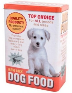 Caja Metal Dog Food