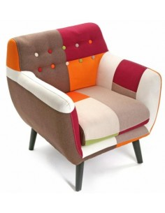 Sillon Patchwork Orange