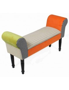 Taburete pie cama Orange