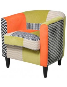 Butaca patchwork Orange