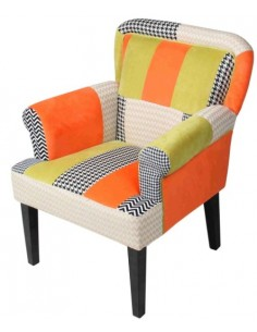 Sillon con reposabrazos Orange